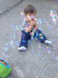 I'm also nuts about the bubble machine!