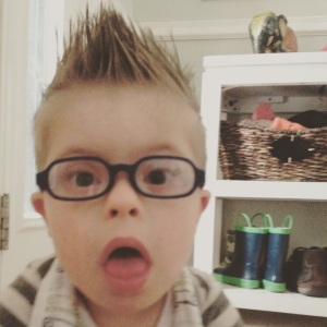 """I got awesome new glasses (that my parents may or may not have already """"misplaced"""") and a cool summer haircut.  Watch out world!"""